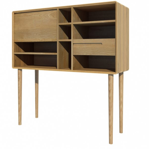 Mason and Bailey Scandic Wide Cabinet