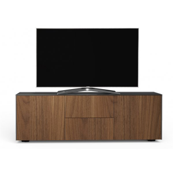 Frank Olsen INTEL1500 Matt Grey/Walnut TV Cabinet For Up To 55""
