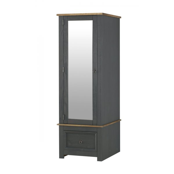 Core Products Corona Carbon CRC525 Armoire with Mirrored Door