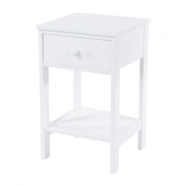 Core Products Shaker 1 Drawer Petite Bedside Cabinet