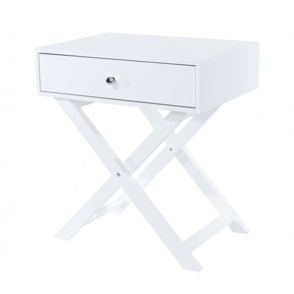 Core Products X leg 1 Drawer Petite Bedside Cabinet