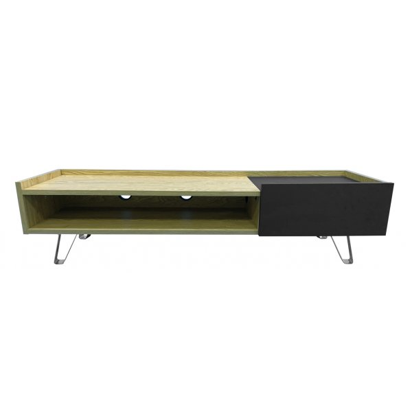 """Alphason Bella Oak 1500 TV Stand for up to 65\"""" TVs"""
