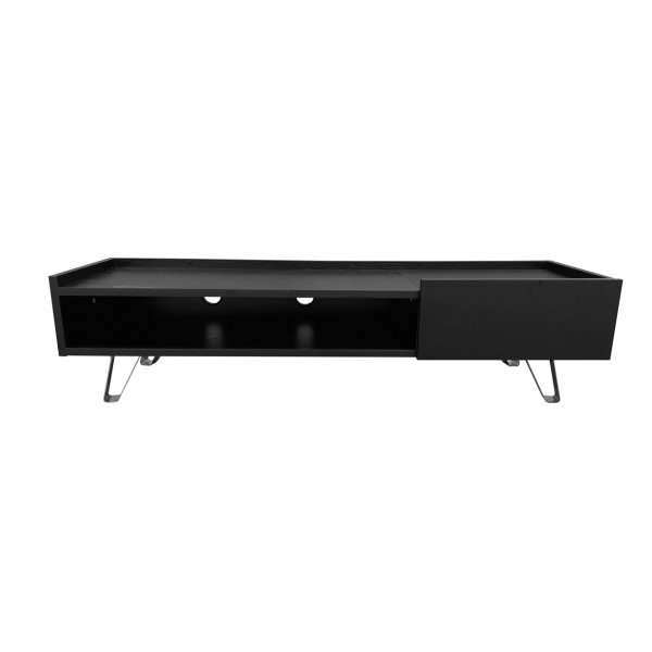 """Alphason ADBE1500BLK Bella Black 1500 TV Stand for up to 65\"""" TVs"""