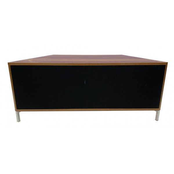 """Alphason ADHY1200WAL Hyde Walnut 1200 TV Stand for up to 60\"""" TVs"""