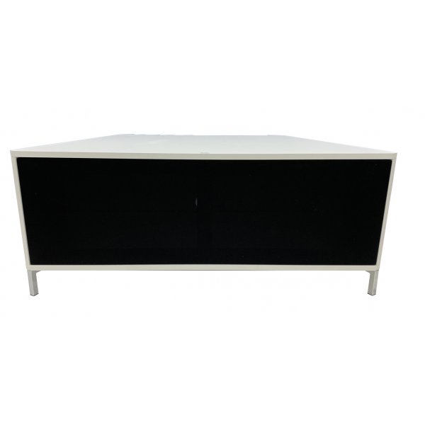 """Alphason ADHY1200WHT Hyde White 1200 TV Stand for up to 60\"""" TVs"""