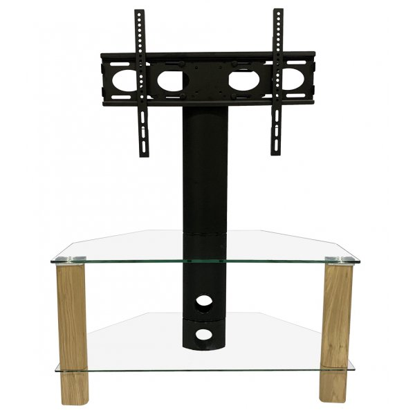 "Alphason ADCEC800LO Century Cantilever TV Stand For Up To 50"" - Light Oak"