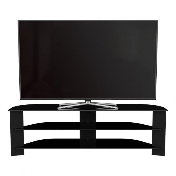 "AVF Varano Black TV Stand For up to 65\"" TVs"