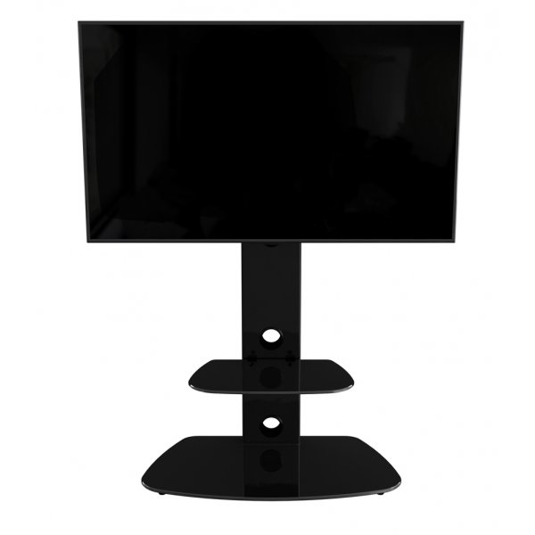 """AVF Lucerne FSL700LUCB Cantilever TV Stand For 32 - 65\"""" TVs - Black"""