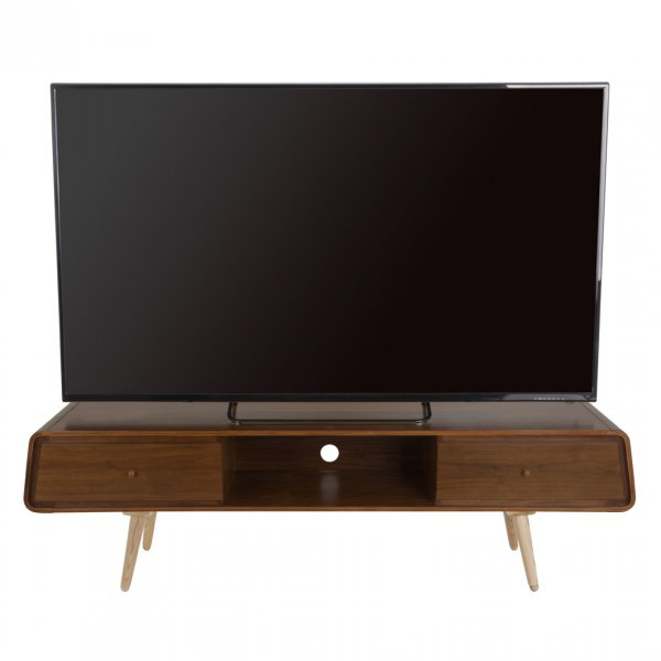 """AVF Reflections Deco FS1800DECW TV Stand For Up To 85\"""" TVs"""