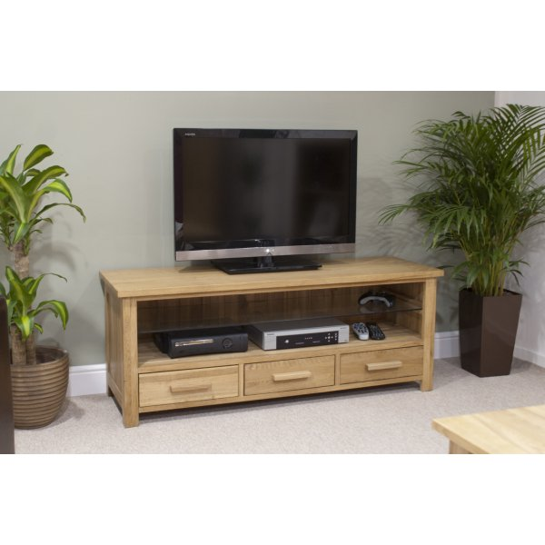 "Opus Oak Plasma TV Unit For Up To 55"" TVs"