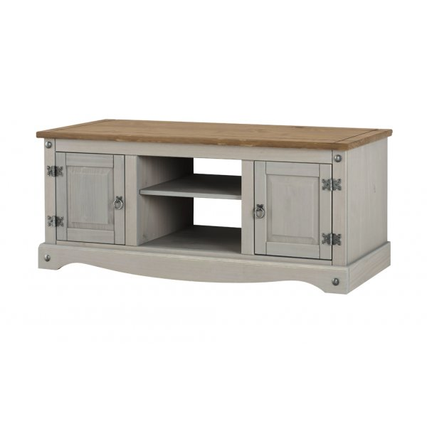 "Core Products Corona Grey Flat Screen TV Unit for up to 65"" TVs"
