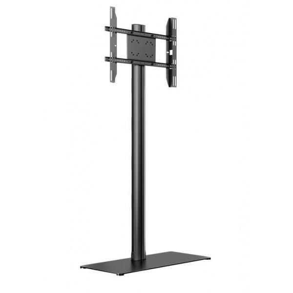 "Multibrackets M Display Stand 180 Single Black w. Floorbase For 24 - 63\"""
