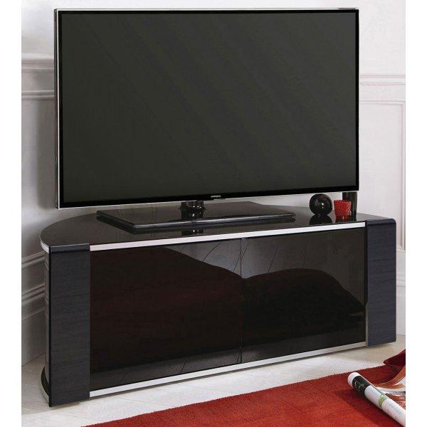 MDA Designs Sirius 850 Black Corner TV Cabinet