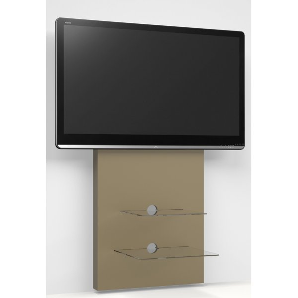 Alphason ADME/2S-MDF Mercury Slimline Wall-mounted TV Stand - Paintable MDF