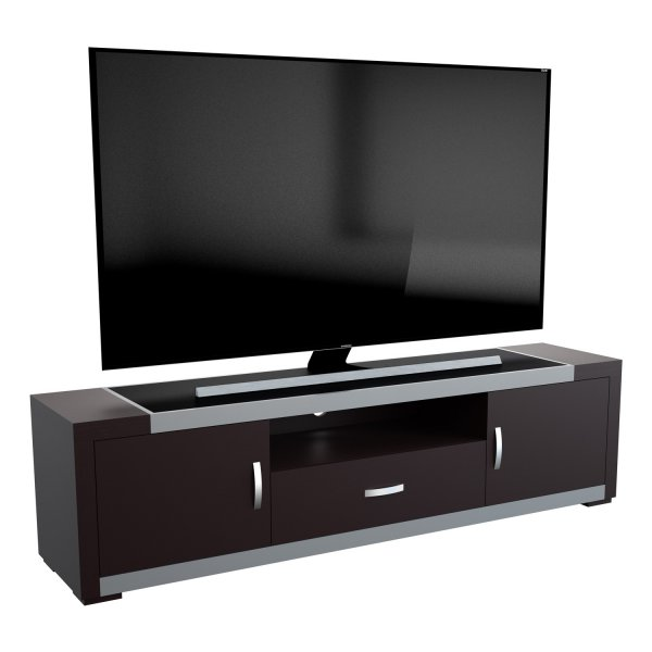 "AVF FS1800ARTB Artemis Flat TV Stand For Up To 90"" - Black 1800mm"