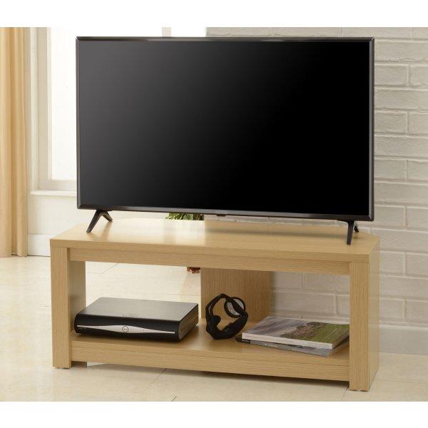 """TNW BOS-1200-OAK Boston Corner TV Stand in Oak - For 60\"""" TVs"""