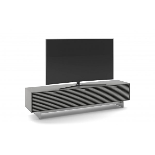 """BDI Align 7473 Modern TV Stand & Credenza for up to 85\"""" TVs - Fog Grey"""