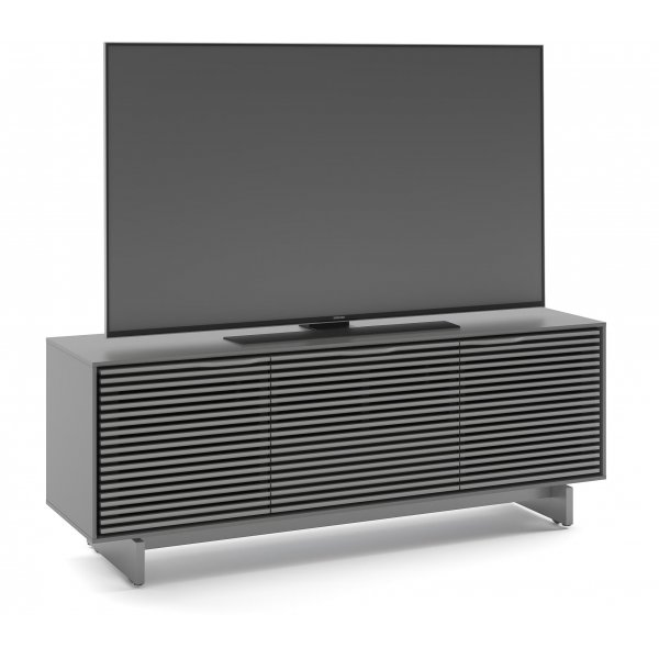 "BDI Align 7477 Modern TV Stand, Media Cabinet & Credenza for up to 70\"" TVs - Fog Grey"