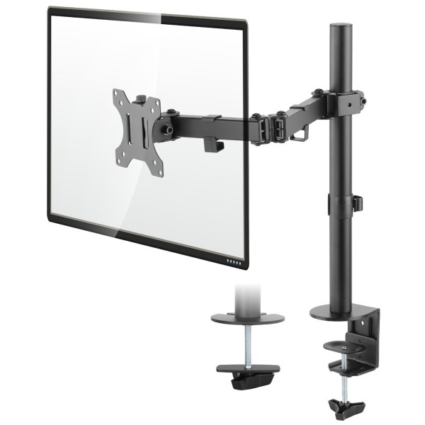 """Height Adjustable Monitor Desk Mount for up to 32\"""" Screens"""