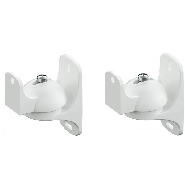 AVF EAK50W Universal Pair of Speaker Wall Mounts - Small - White