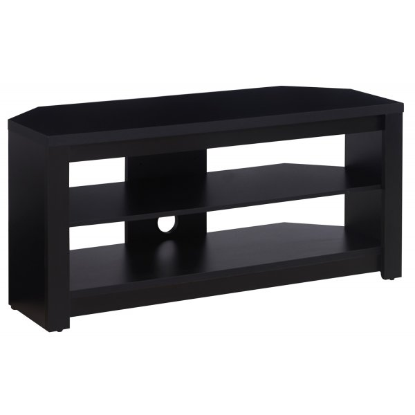 "TNW Memphis Corner TV Stand For Up To 50"" TVs - Black"