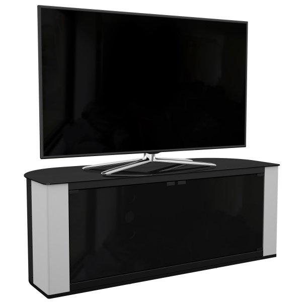 AVF Gallery FS1200GAPG Corner TV Stand 1200 up to 60 inch Pebble Grey Finish