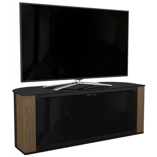 AVF Gallery FS1200GARW Corner TV Stand 1200 up to 60 inch Rustic Wood Finish