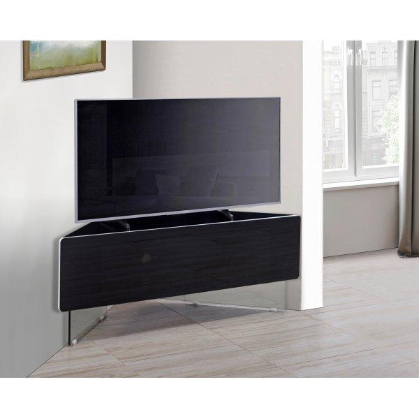MDA Antares Black Corner TV Cabinet