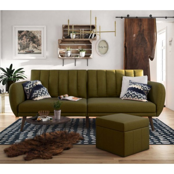 Brittany Sofa Bed- Green
