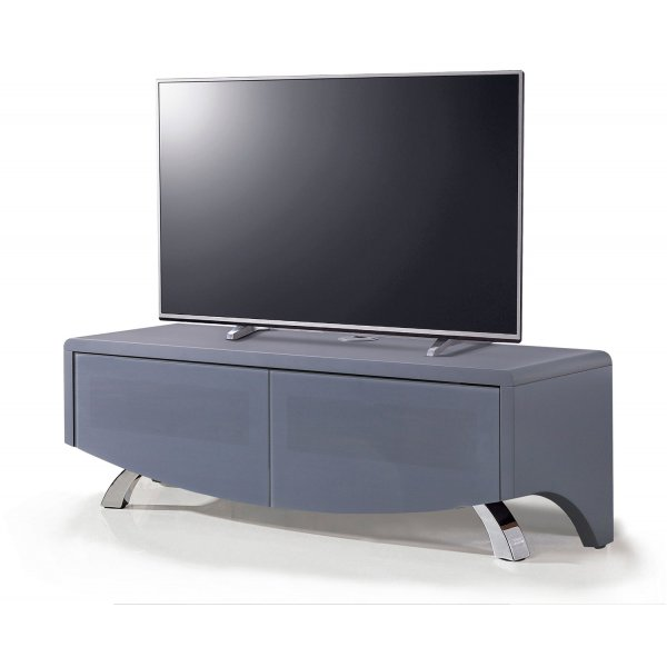 "Wave 1200 Hybrid TV Stand For Up To 60"" - Satin Grey"