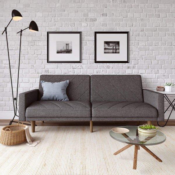 Paxon Sofa Bed- Dark Grey Linen