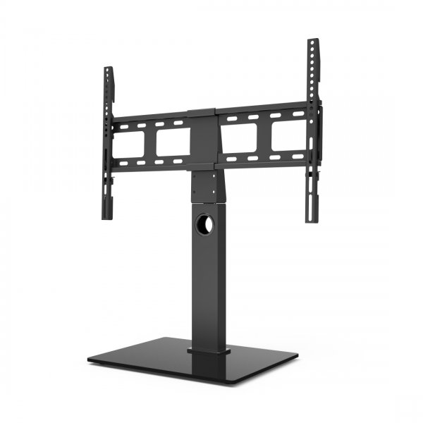 """Hama Height Adjustable Replacement Pedestal Table Top TV Stand for up to 65\"""" TVs"""