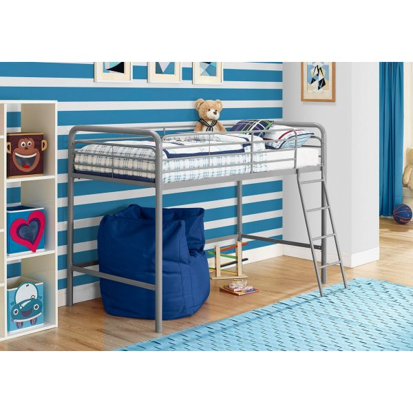 Single Midsleeper Bunk Bed- Grey