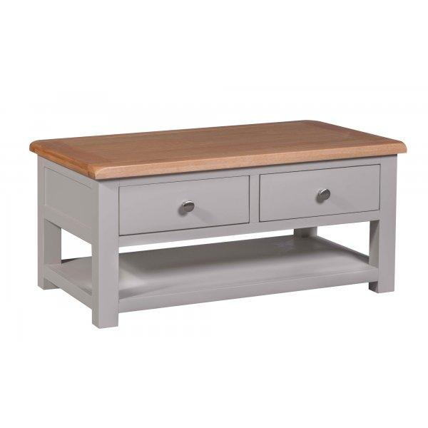 Homestyle Diamond Grey Painted Coffee Table