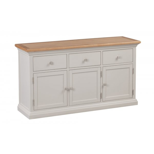 Cotswold Grey Painted Large Sideboard