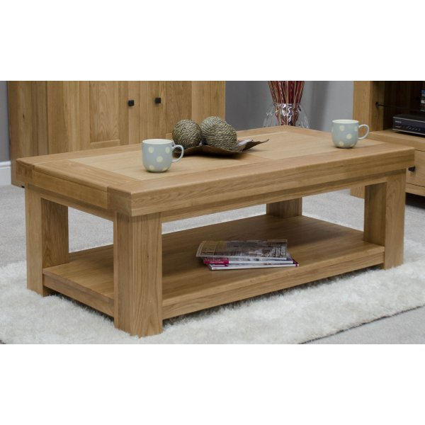 Bordeaux 4 x 2 Coffee Table With Shelf