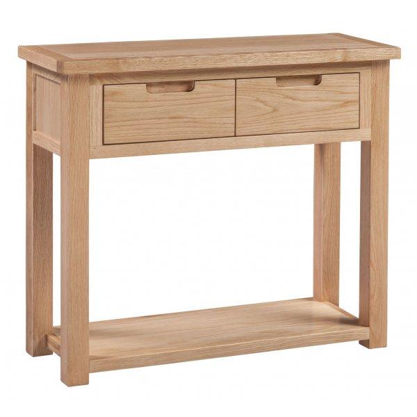 Solid Oak Moderna Hall Table