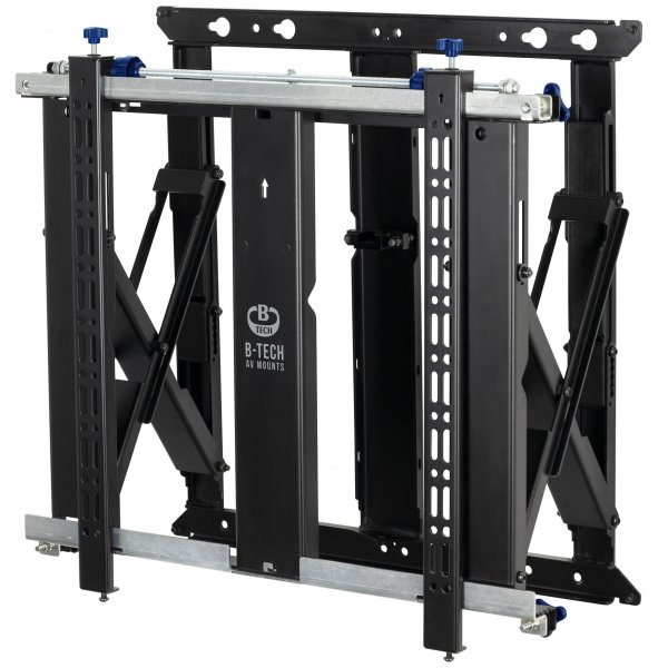 """B-Tech BT8312 V2 Slimline Soft-Open Full Service Video Wall Mount For Up To 70\"""" Screens"""