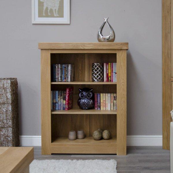 Bordeaux Small Oak Bookcase