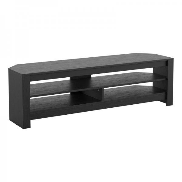 "AVF CA140BO Calibre Flat TV Stand in Black Oak - For Up To 65\"" TVs"