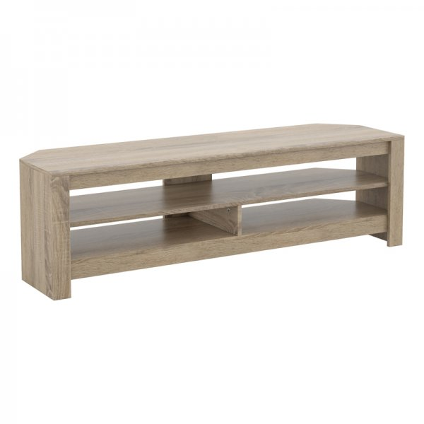 """AVF CA140GO Calibre Flat TV Stand in Grey Oak - For Up To 65\"""" TVs"""