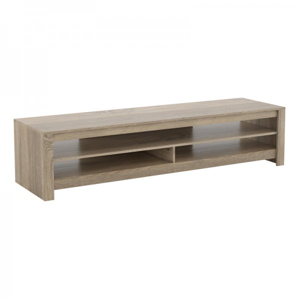 """AVF CA180RGO Calibre Flat TV Stand in Grey Oak - For Up To 85\"""" TVs"""