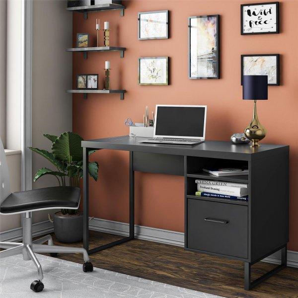 Candon Desk Black