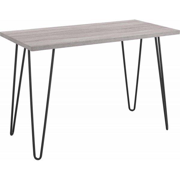 Dorel Owen Retro Desk - Distressed Grey Oak