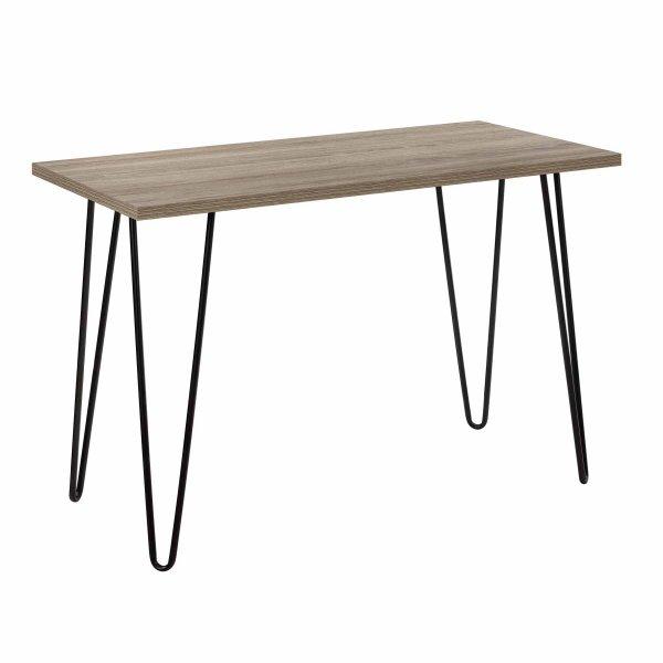 Dorel Owen Retro Desk - Rustic Oak