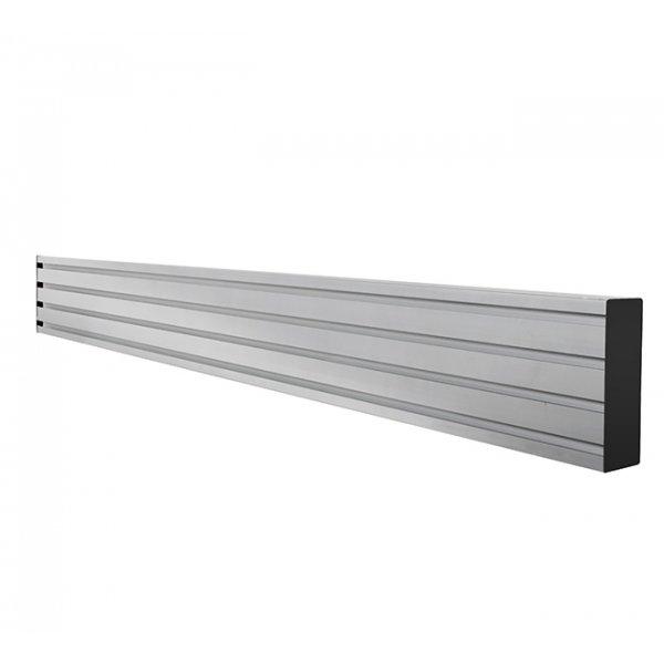 B-Tech BT8390-050/S Horizontal Mouting Rail 50cm - Silver