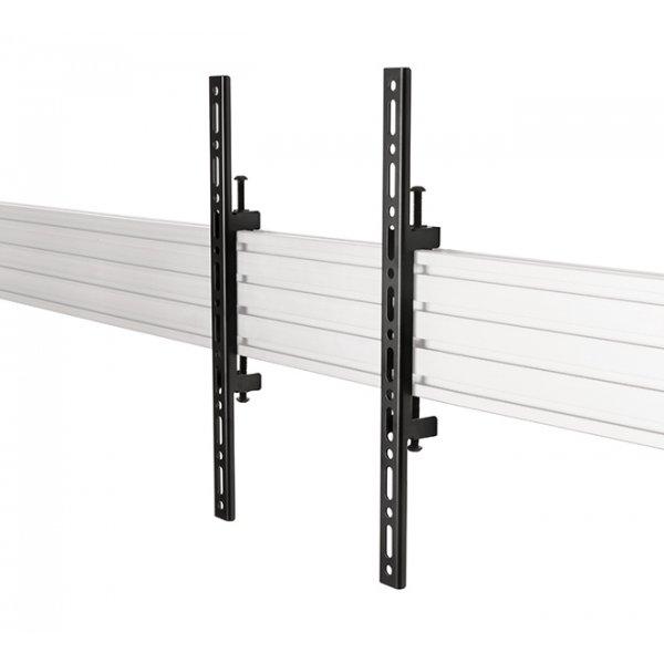 B-Tech BT8390-VESA400F/B SYSTEM X VESA 400 Flat Screen Interface Arms for BT8390 Pair - Black