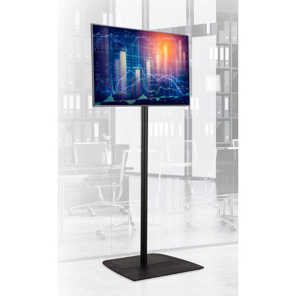 """B-Tech 1.8m Floor Stand For TVs up to 65\"""""""