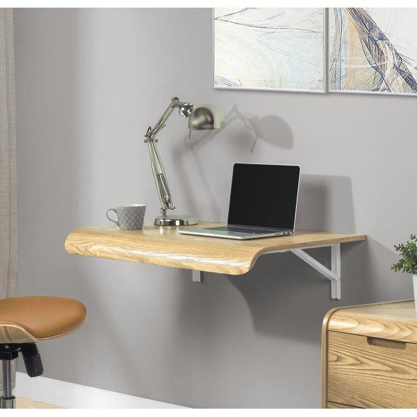 Jual PC206 Wall Mounted Drop Down Desk -Oak