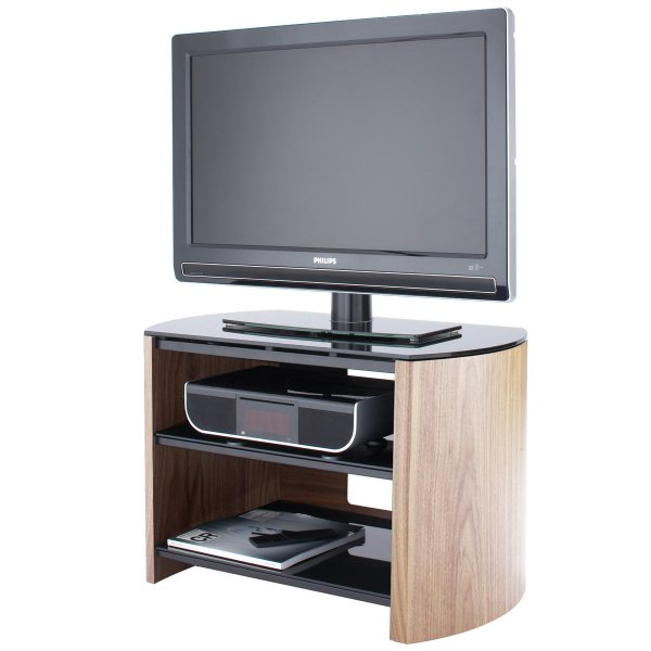 Alphason Finewoods FW750 Light Oak Veneer TV Stand for screens up to 37""